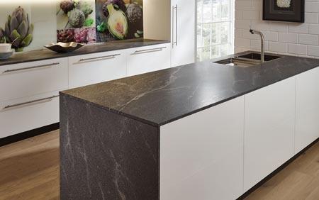 Granit Naturstein Elegant grey strukturiert 1